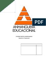 ATPS PROGRAMAÇÂO