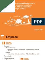 A incorporação da responsabilidade social e sustentabilidade- um estudo baseado no relatório de gestão 2005 da companhia paranaense de energia - COPEL - Apresentação