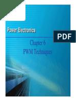 PWM Techniques