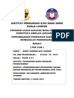 Refleksi PKD 3106 BM