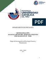 20130313-Sistematizacion Trabajo Conjunto Pucp - Inpe