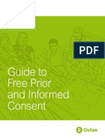 Guide to FPIC (Oxfam)