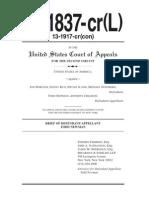 13-1837-Cr(l), Usa v Newman, Brief for Defendant-Appellant