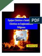 Equipos Eléctricos e Instalaciones Eléctricas en AEx