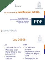 Presentación Ley 20606