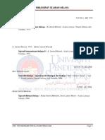 Bibliografi - Koleksi Sejarah Melayu