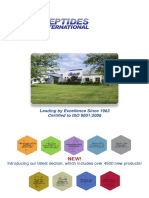 Peptides International 2015 Product Catalog  - NEW Version