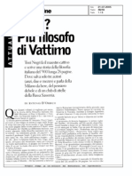 Intervista D'Orrico - 21.7.2005