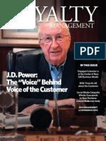 Loyalty Management Third Quarter 2013