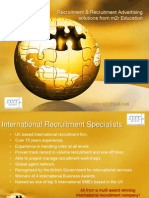 Recruitment Services From m2r Education