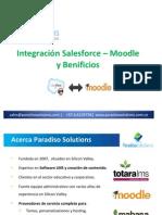 Integración Salesforce – Moodle  y Benificios