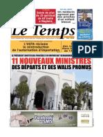 Le Temps d Algerie Du 12.09.2013