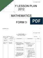 RPT Math Frm 3 2012
