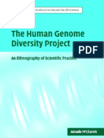 The Human Genome Diversity Project