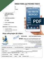 Techno Bingo Order Form