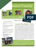 Sept. Newsletter 2013