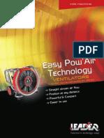 Leader PPV Positive Pressure Ventilation Fan