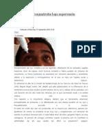 11/09/13 newsoaxaca Debe tratarse conjuntivitis bajo supervisión médica