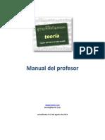 Manual Profesor 2012