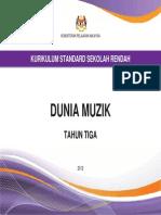 Dokumen Standard Dunia Muzik Tahun 3