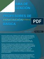 Actualización para Profesores de Educación Básica