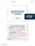 1 Corporate Restructuring-Introduction