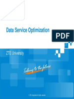 ZTE PS-Data Service Optimization