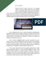 Sintetizadores, Samplers e Sinais MIDI