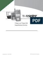 TI-Nspire 1.3 Key Shortcuts