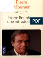 Pierre Mounier Pierre Bourdieu, Une Introduction 2001
