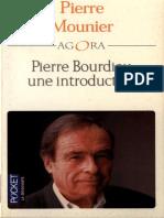 Pierre Mounier Pierre Bourdieu, Une Introduction 2001