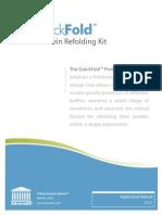 Application Manual QuickFold