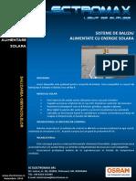 Sistem de Balizat Cu Panou Solar 64