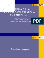 Prog Bil at Paraguay 102012