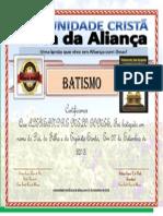 Certificado Alexsandre Melo
