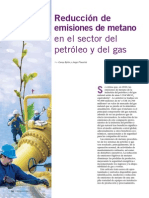 Reducciones de Emiciones de Metano