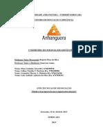 ATPS Técnicas de negociação salarial