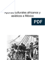 Aportes culturales africanos y asiáticos a México
