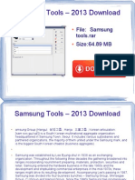 samsung tools