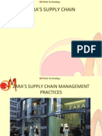 Presentation on ZARA Supply Chain