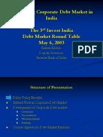 Developing Corporate Debt Market in India