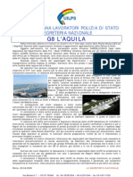 Relazione dell'UILPS sul G8 di L'Aquila
