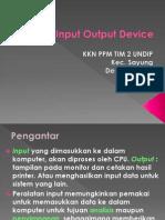 Input & Output-Device