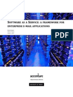 SaaS-A Framework for Enterprise E-mail Applications - Master Thesis