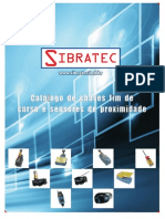 Catalogo SIBRATEC - Chaves Fim de Curso Sensores
