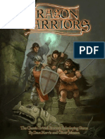 MGP6122 Dragon Warriors RPG - Rulebook
