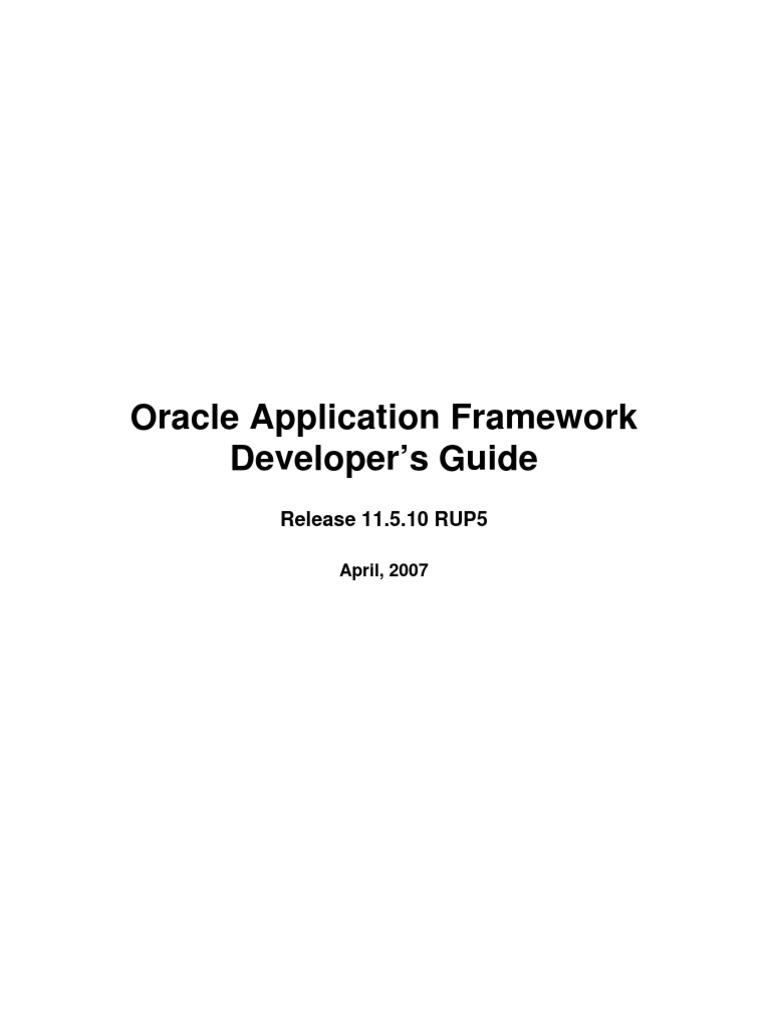 oaf framework guide model view controller oracle database rh scribd com Troubleshooting HVAC Electrical Control Circuits troubleshooting guide software