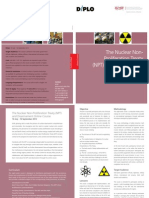 weqasNPT and Disarmament Online Course Brochure