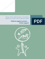 Violence Against Women-Victim Support-Main Findings
