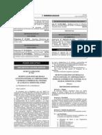 DL. 1153 - Regula la política integral de compensaciones y entregas económicas del personal de la salud al servicio del Estado